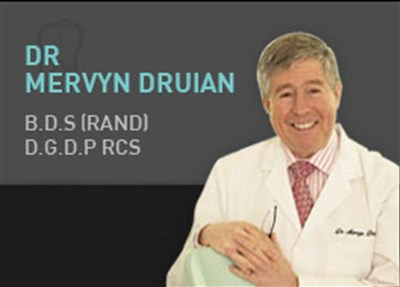 Dr Mervyn Druian, BDS (RAND) D.G.D.P, The London Centre for Cosmetic Dentistry